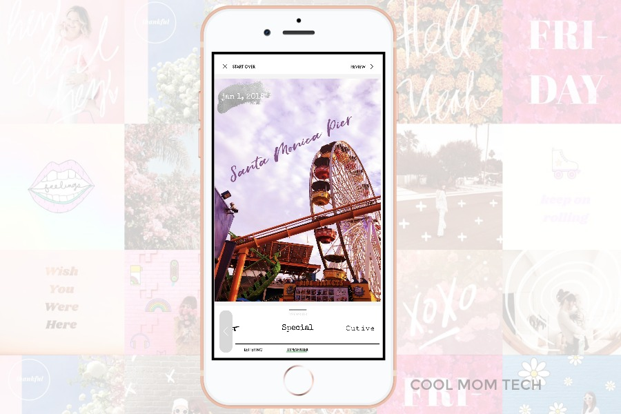 A Design Kit: The fabulous new type overlay and stickers app to keep your Insta stories on point