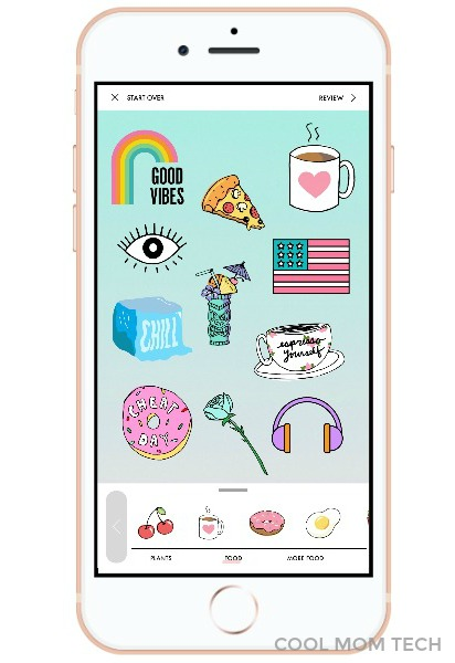A Design Kit: The new stickers and type overlay app for photos