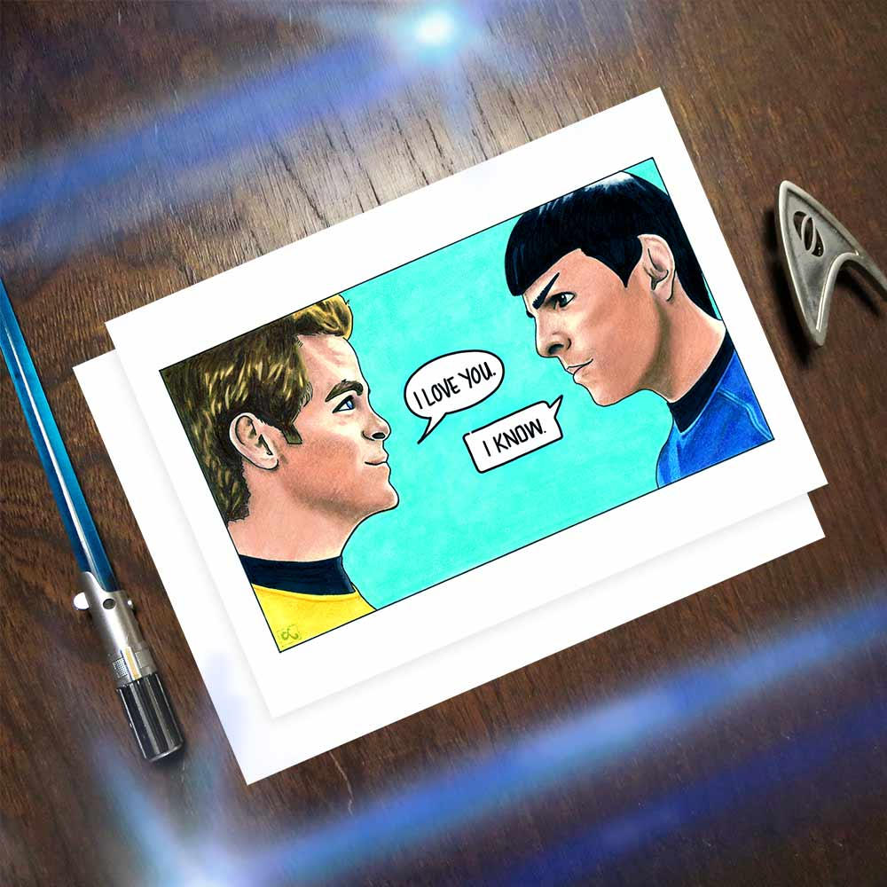 Star Wars Star Trek mashup Valentine | Cool Mom Tech