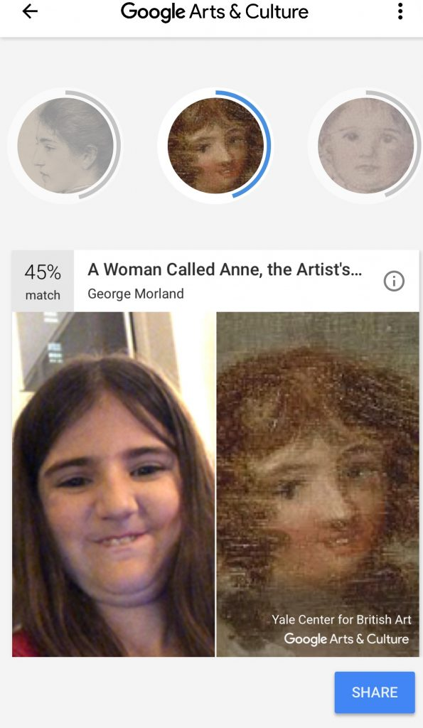 Match your selfie with a work of art in the Google Arts & Culture app | Cool Mom Tech