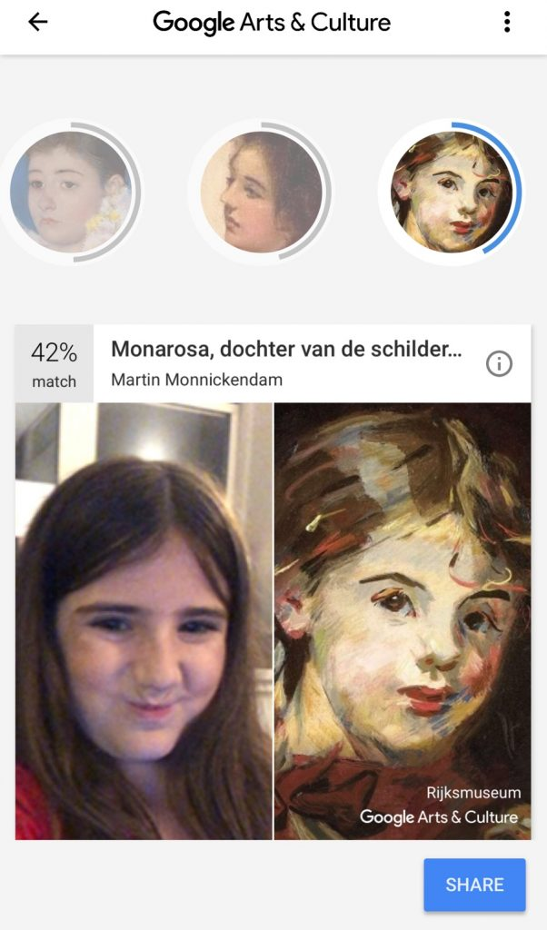 Compare your selfie with a work of art in the Google Arts & Culture app | Cool Mom Tech