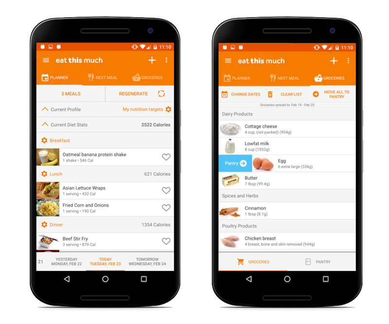 Helpful meal-planning apps for families: Eat This Much