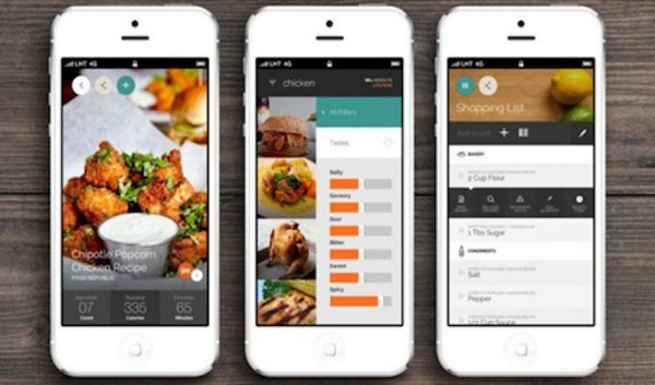 Helpful meal planning apps for families: Yummly