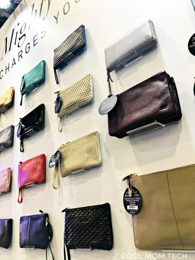 New Mighty Purse Charging Purses at CES 2018 | Cool Mom Tech