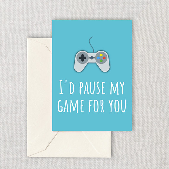 The perfect geeky Valentines Day cards from a gamer to their (other) love | Cool Mom Tech