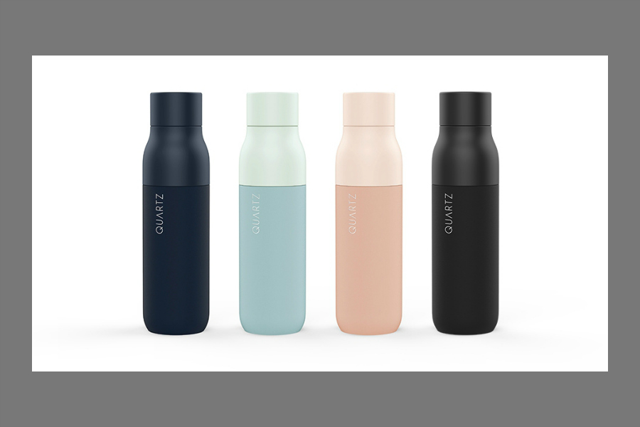 Behold! A self-cleaning water bottle. We'll take 10.