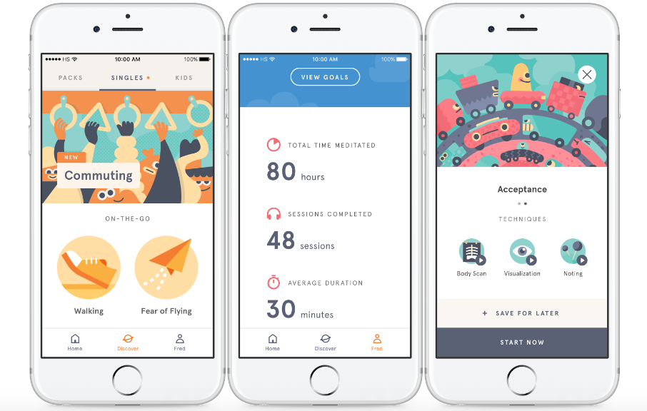 5 great self-care apps for 2018: Headspace