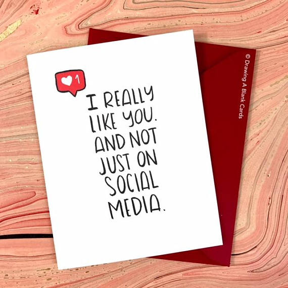 Social Media Geeky Valentines Day Card | Cool Mom Tech