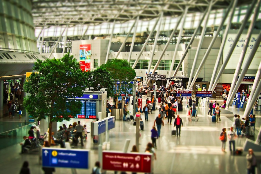 How long is the airport security line wait? There's an app for that!