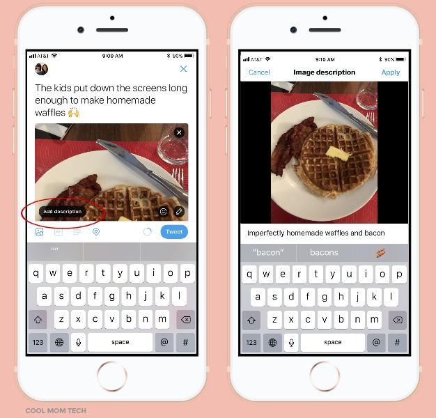 "Social media tips: How to use Twitter's ""compose image descriptions"" to make your attachments accessible to visually impaired followers