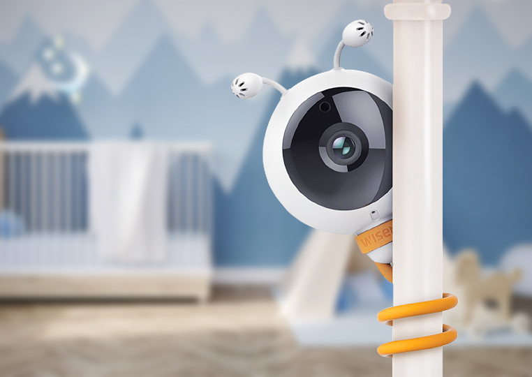 Wisenet Babyview Eco Monitor: New for parents at CES 2018