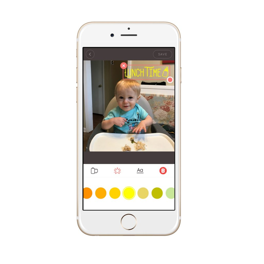 Best baby book apps: Baby Story
