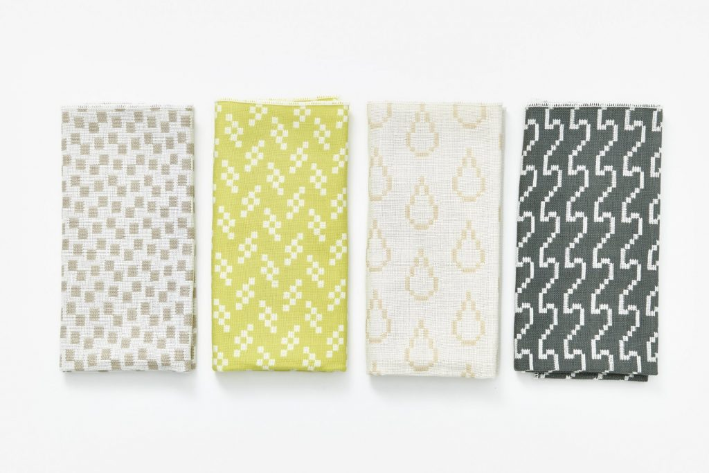 Bitmap Textiles napkins by Susan Kare | Cool Mom Tech
