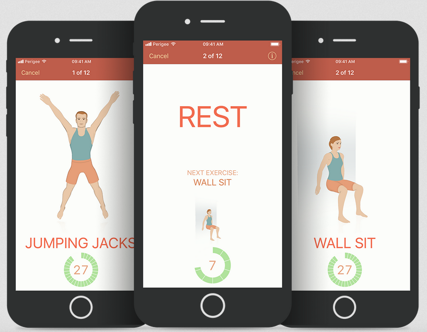 Fitness apps for busy parents: Seven by Perigee | Cool Mom Tech