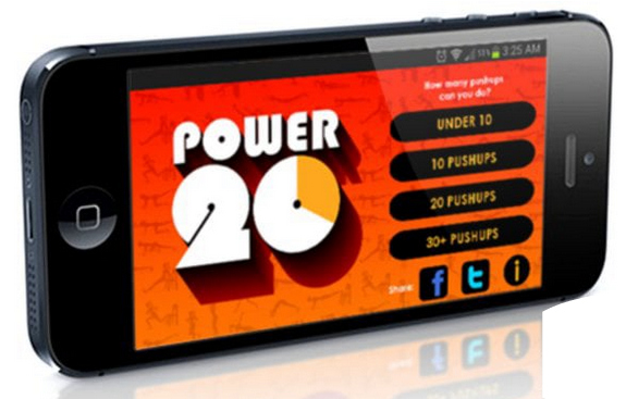 Fitness apps for busy parents: Power 20 | Cool Mom Tech
