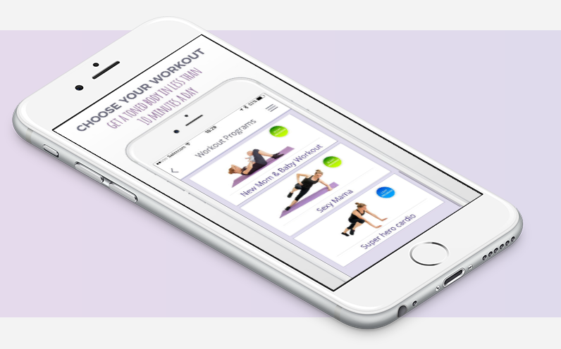 Fitness apps for busy parents: Busy Moms' Fitness | Cool Mom Tech