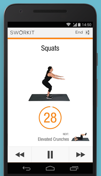 Fitness apps for busy parents: Sworkit | Cool Mom Tech