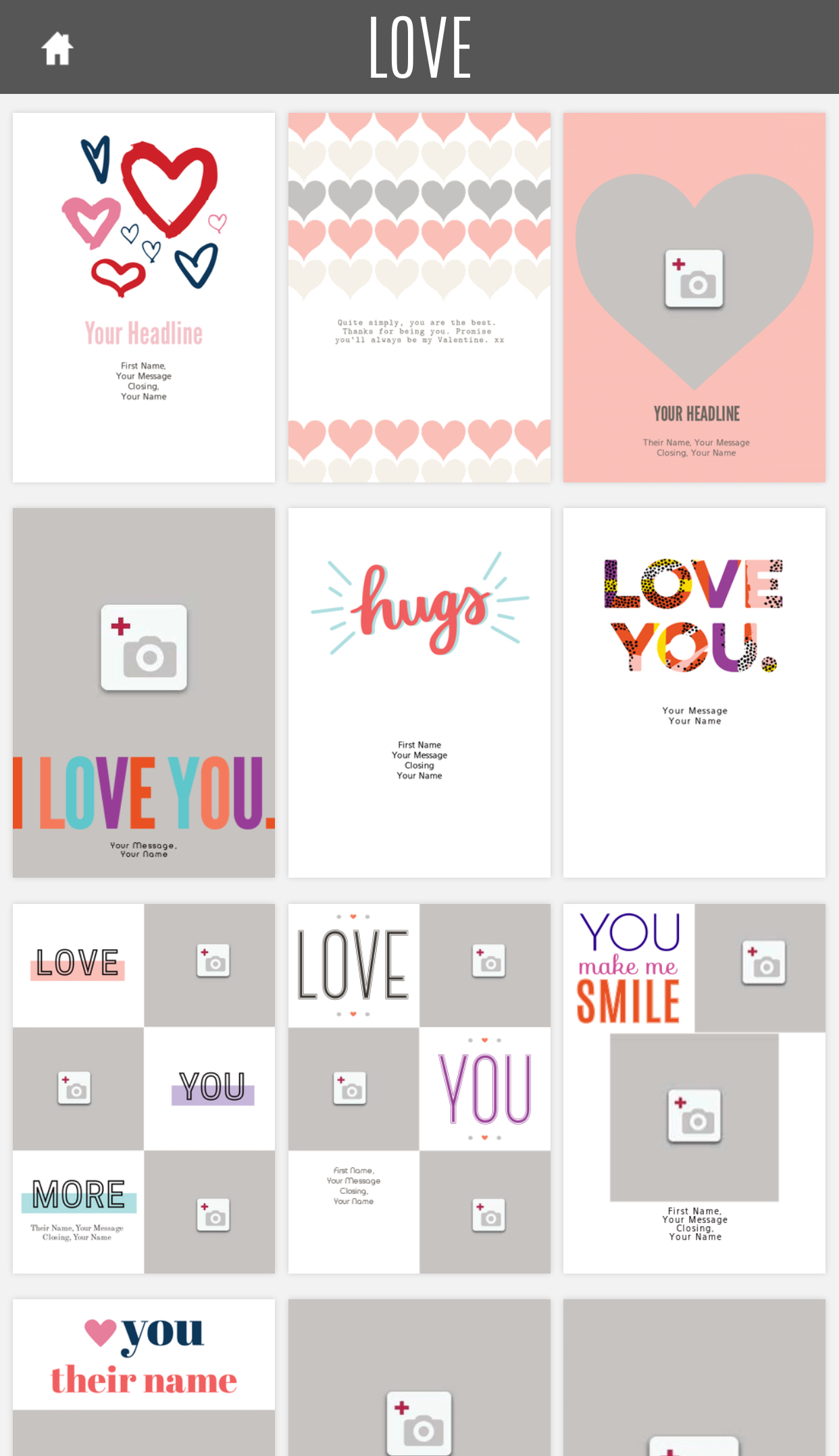 Free Valentine's eCards: Tons of templates from Red Stamp
