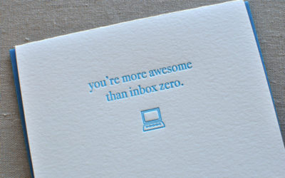 Here's how to get to inbox zero. You can do it!