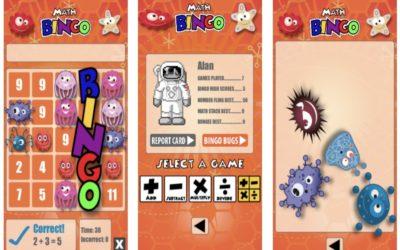 Math Bingo: An iPad app to make math as fun as Bingo