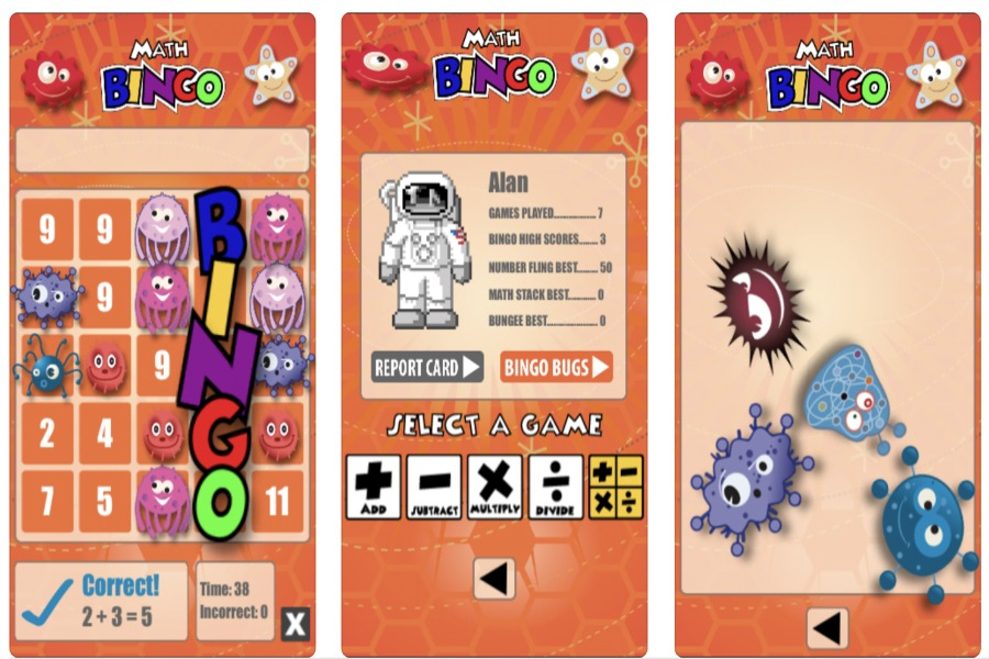 Math Bingo: An iPad app to make math as fun as Bingo