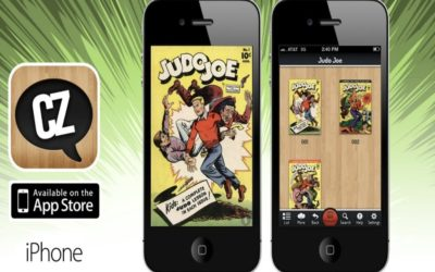 Comic books go green and ultra-portable