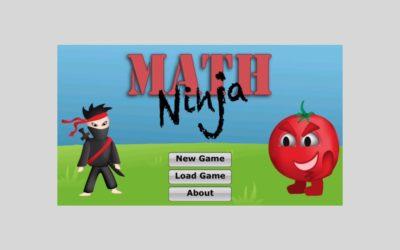 Math Ninja: Turn your kids into math ninjas with this educational app