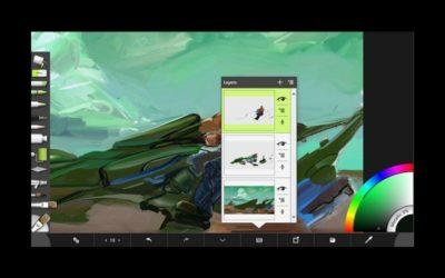 ArtRage for iPad. Watercolor 2.0