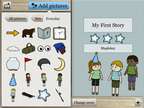 A cool new app that helps kids discover their inner author