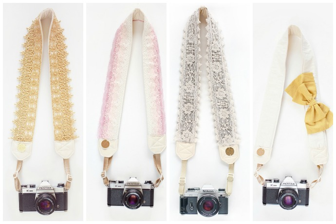 A stylish camera strap? You heard us right.