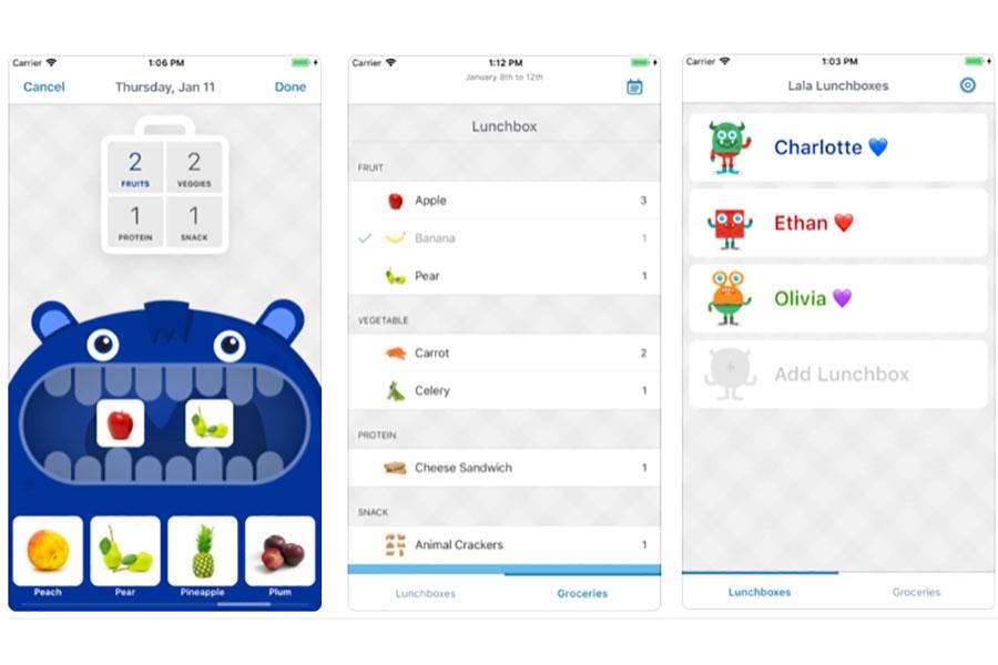Better lunch planning through technology