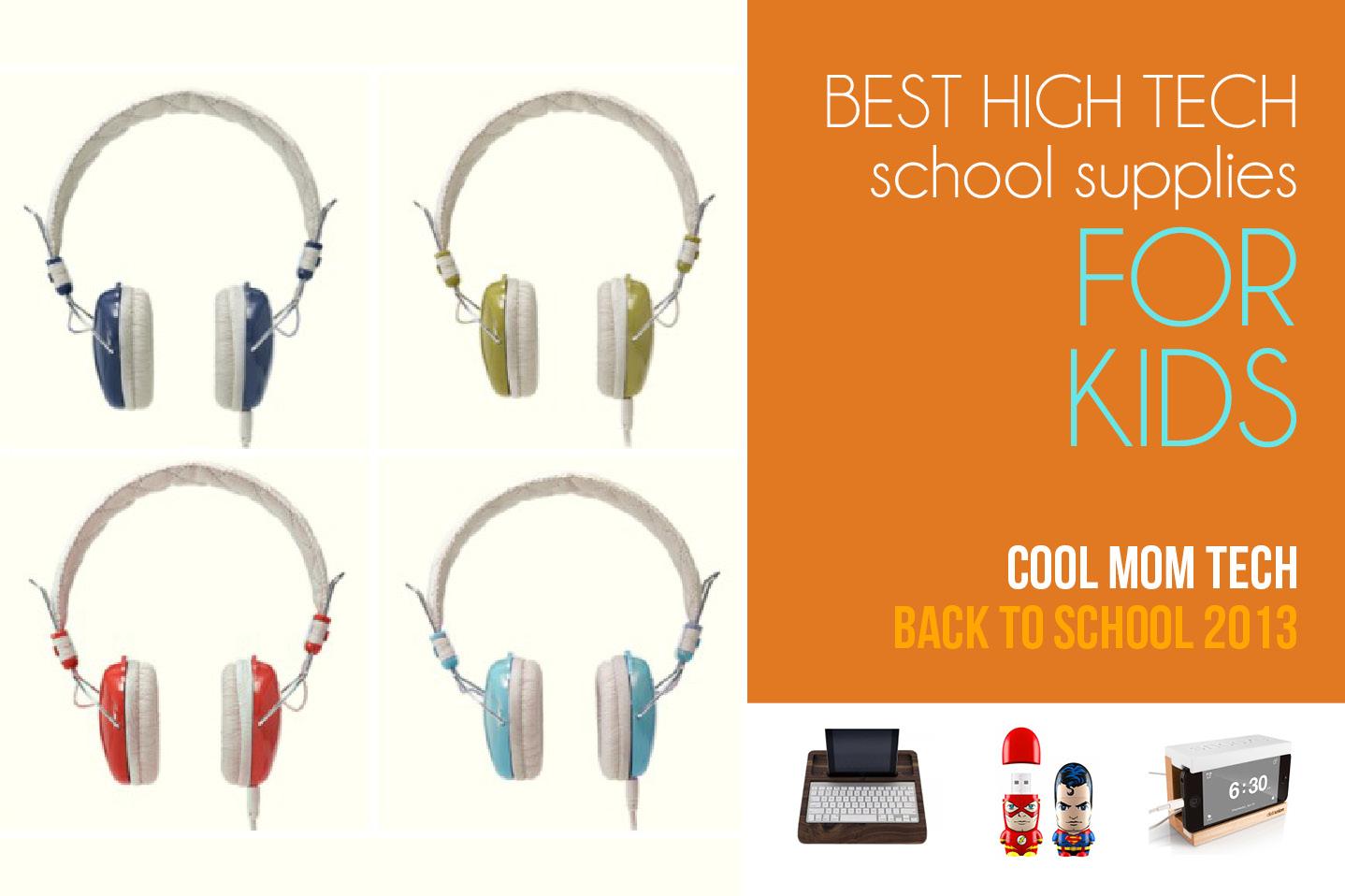 High tech school supplies: Back to School Tech Guide 2013