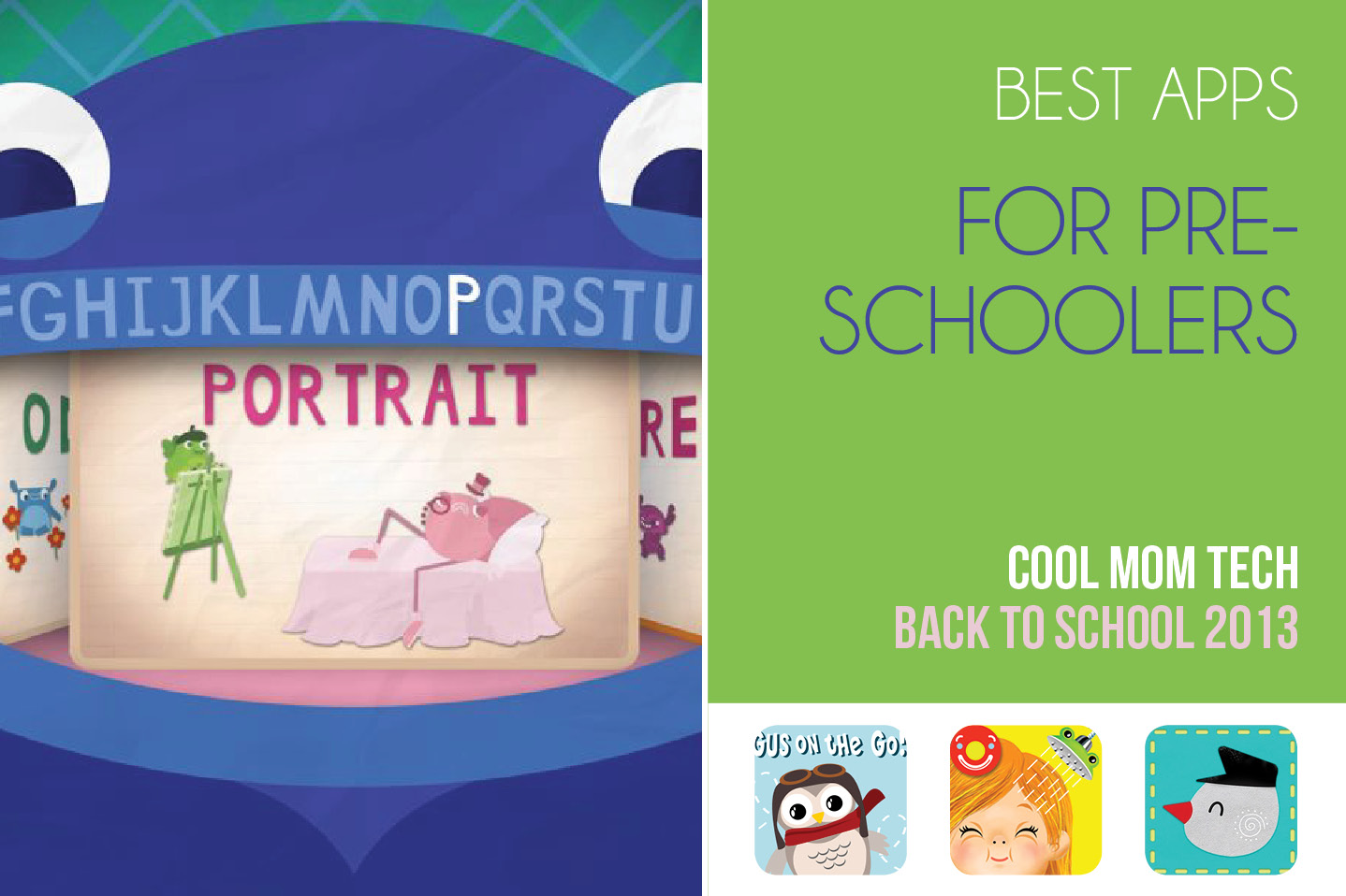 The best preschool apps: Back to School Tech Guide 2013