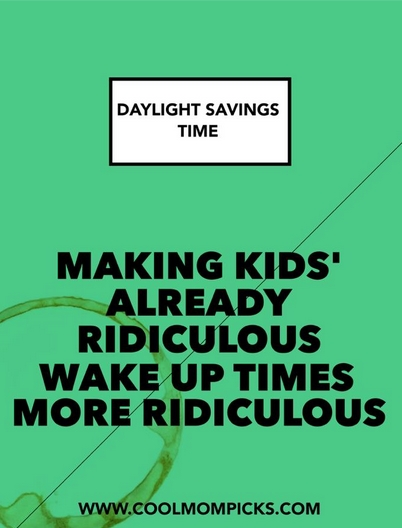 Happy end of Daylight Savings Time. And we mean that facetiously.