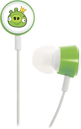 Angry Birds earbuds!