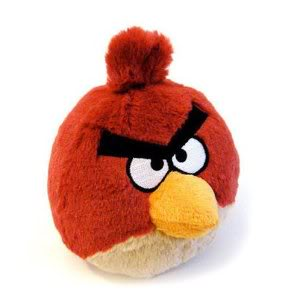 Angry Birds break out of the screen. And they're still angry.