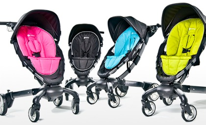 Strollers go way high-tech with the Origami stroller from 4Moms