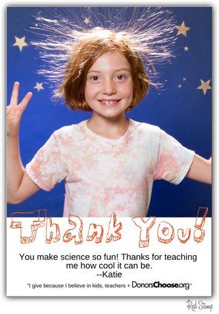 Send cute cards, help kids and teachers!