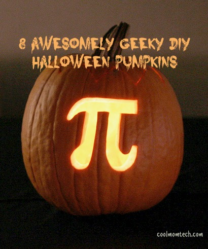 8 awesome geeky Halloween pumpkins that you can actually make.