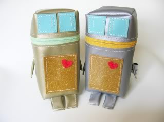 Limited-edition robot pouches are adorably useful too