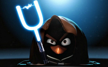 Web Coolness: Angry Birds meets Star Wars, tips for kids with cell phones, and tech needs women!