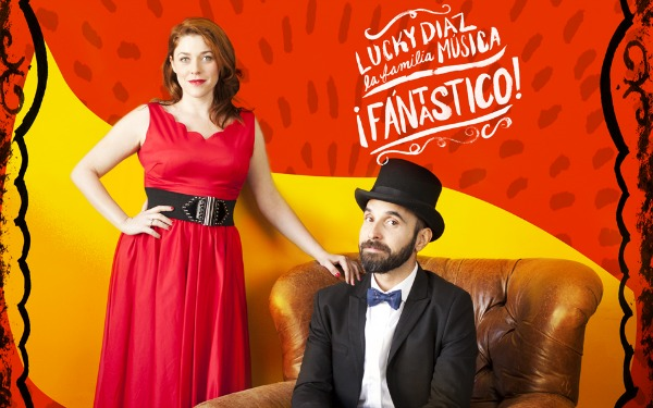 Kids' music download of the week: the Latin Grammy Award winning Fantastico! by Lucky Diaz and the Family Jam Band