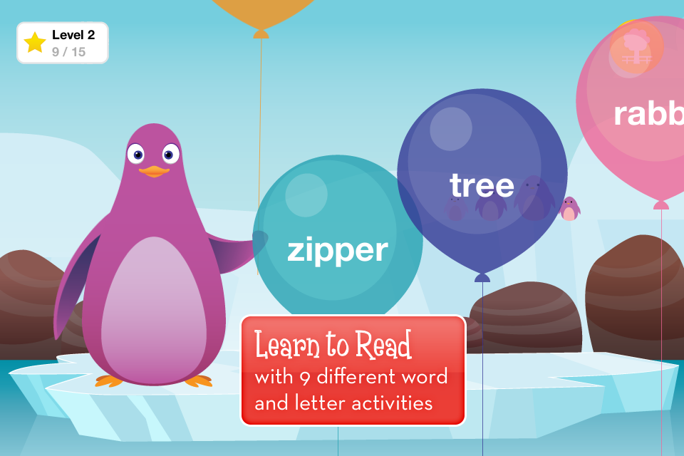 Reading apps for kids gets a dandy new addition with…well, the Kindergarten Reading app.
