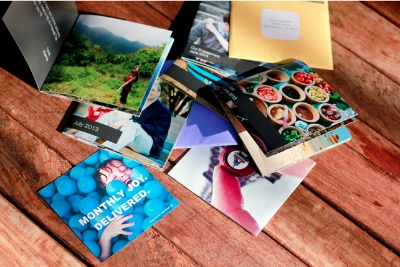 Affordable mini photo books for when you have lots to send.