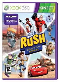Pixar comes to life in Kinect Rush–and so will your kids.