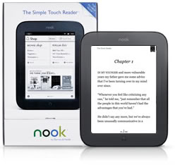 Get a little Nook-y with the new Nook e-Reader