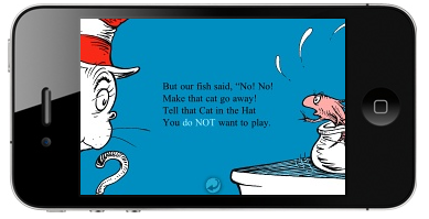 Dr. Seuss takes over the app market. How very 2011.