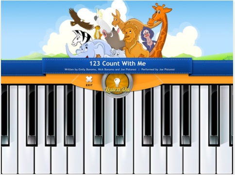 Fun interactive music videos for kids way, way too young to see 99.9% of today's music videos