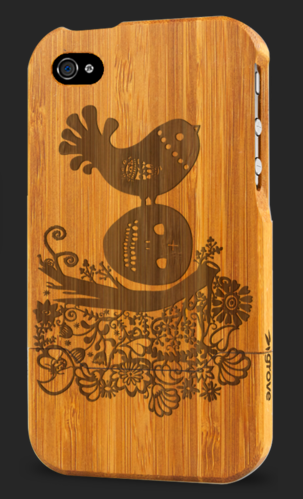 Custom iPhone cases for the eco-minded and the artsy-minded