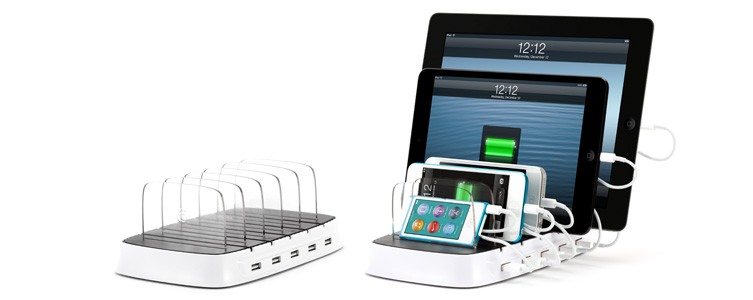 The coolest multigadget charger for the multigadget family